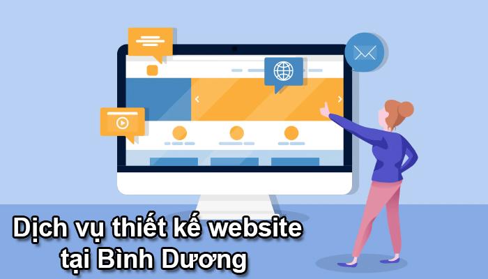Dịch vụ thiết kế website tại Bình Dương chuyên nghiệp, uy tín