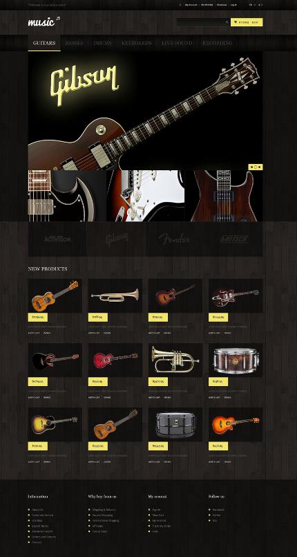 website bán đàn guitar