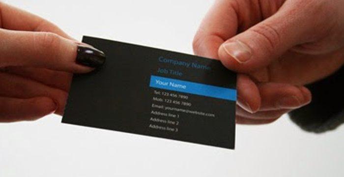 Tự thiết kế card visit chuyên nghiệp