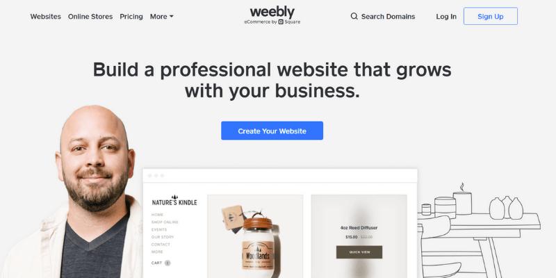 tạo website miễn phí bằng weebly